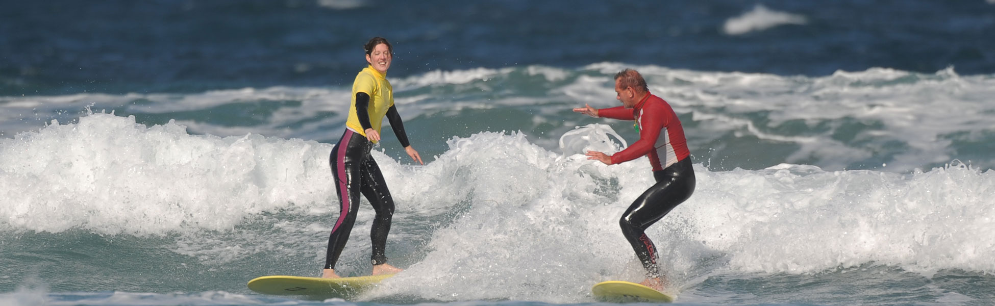 surf coaching in the canary islands