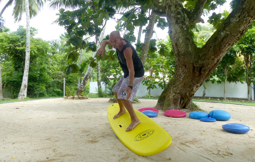 Simulation Training for Surfing