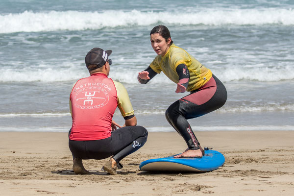 surf coaching for beginners