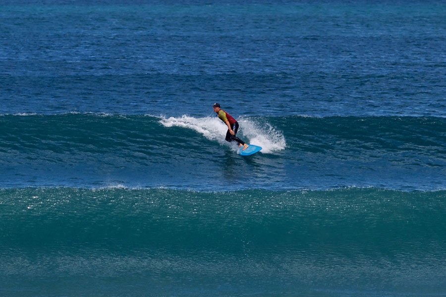 surf coaching at surf camps canary islands