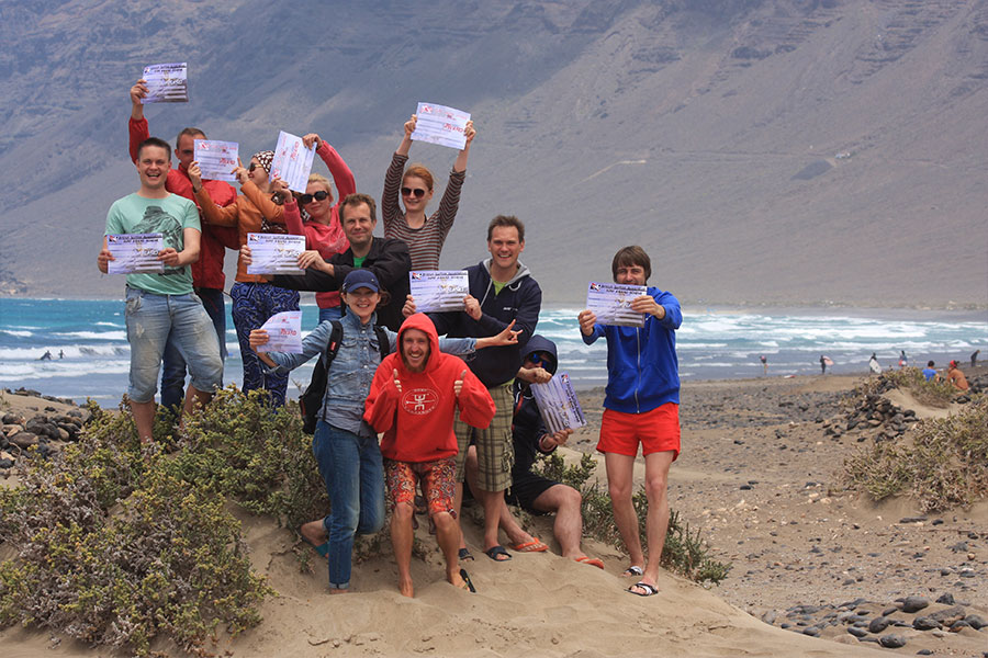 learn surfing at surf camps canary islands