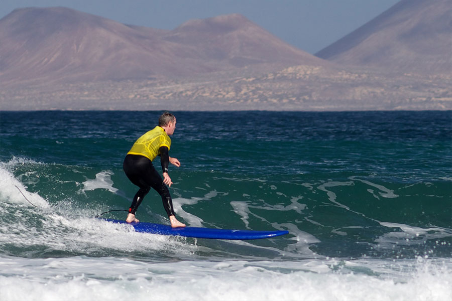 improve intermediate surfing at our surf camps canary islands